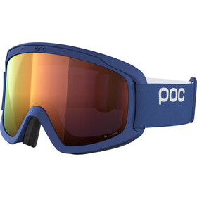 POC Opsin Clarity Svømmebriller, lead blue/spektris orange